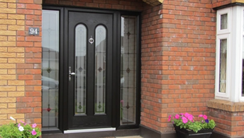 High quality pvc u timber composite doors exmouth devon for Double opening front doors