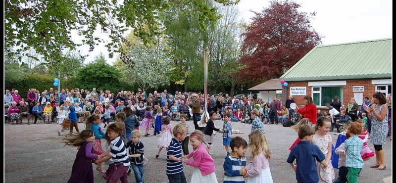 East Budleigh May Day 2014
