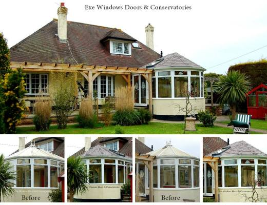 Tiled Conservatory Roof Replacement in Torquay | Exe ...