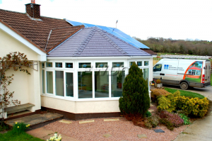 Tiled Conservatory Roof Dunsford